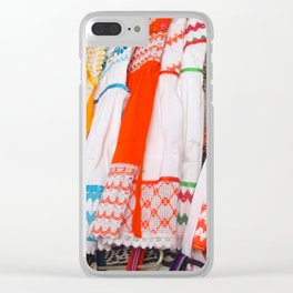 MEXICO CLOTHESLINE Clear iPhone Case