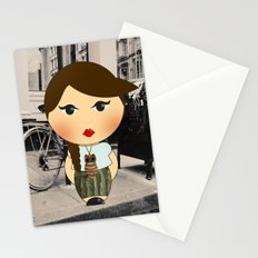 The illustrated ego-bloggers Stationery Cards