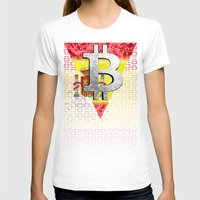 spain T-shirts featuring bitcoin spain by seb mcnulty