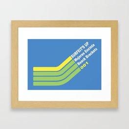 Surfeit's Up • mujeres encinta Framed Art Print