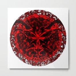 Dark Arcane Dragon Metal Print