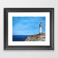 Formentera view Framed Art Print