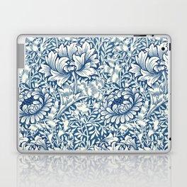 William Morris Navy Blue Botanical Pattern 8 Laptop & iPad Skin