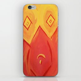 Cubist Bodice iPhone Skin