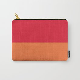 Raspberry Peach Orange Carry-All Pouch
