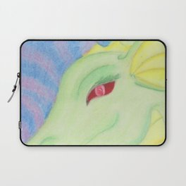 Bright Dragon in pastels Laptop Sleeve