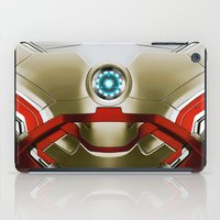 iron man iPad Cases featuring IRON MAN Iron Man by Veylow
