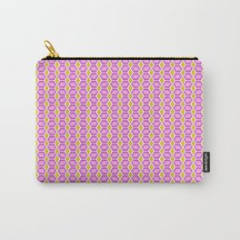 Tourmaline Gemstone with Gold Accent Pattern Carry-All Pouch