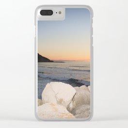 Zurriola Beach, Donostia-San Sebastian. Clear iPhone Case