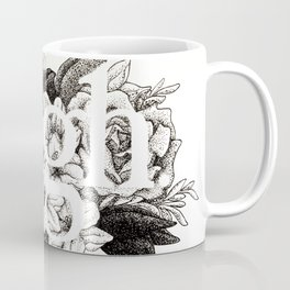Ugh Floral Coffee Mug