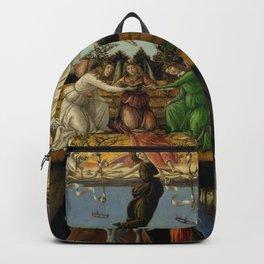 "Sandro Botticelli ""The Mystical Nativity"" Backpack"