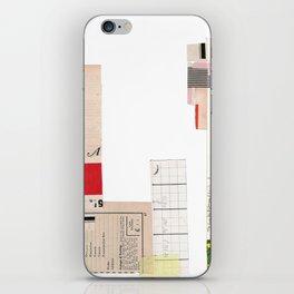 Order Form iPhone Skin