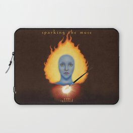 Sparking The Muse Logo Laptop Sleeve