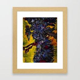 Death Stork Framed Art Print