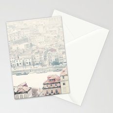 city river Stationery Cards