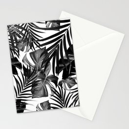 Tropical Jungle Leaves Pattern #10 #tropical #decor #art #society6 Stationery Cards