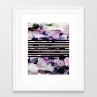 blossom Framed Art Prints featuring Blossom // by Georgiana Paraschiv