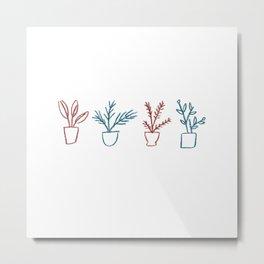 Plant lover Metal Print