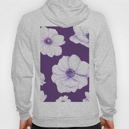 Anemones 2 Purple #society6 #buyart Hoody