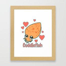 CuddleFish Framed Art Print