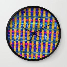 sasazuka knit 7 Wall Clock