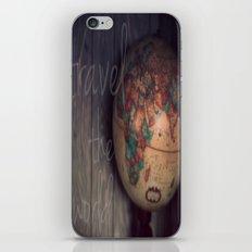 Travel the World iPhone & iPod Skin