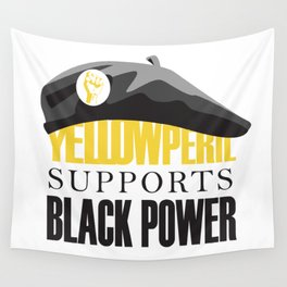 Yellow Peril Wall Tapestry