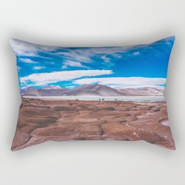 Piedras Rojas (Red Rocks), San Pedro de Atacama Desert, Chile Rectangular Pillow