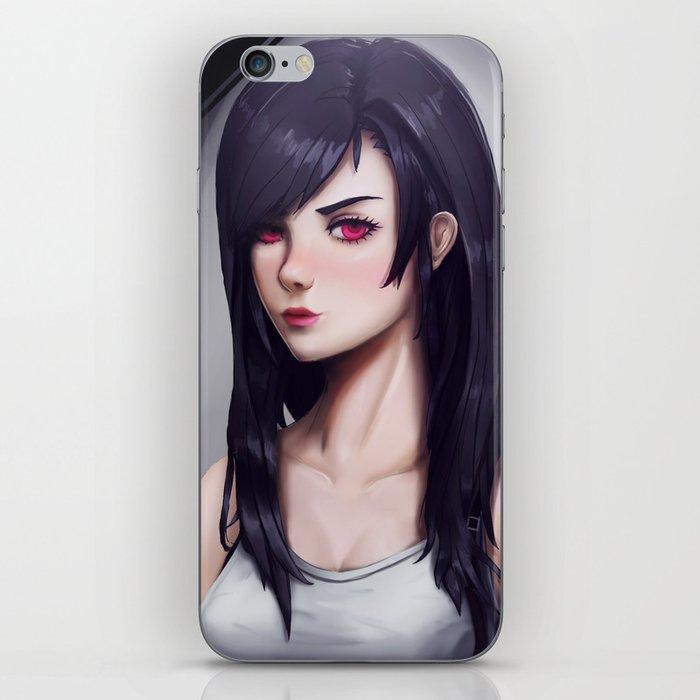 Tifa Lockhart Iphone Skin By Massimomagnago