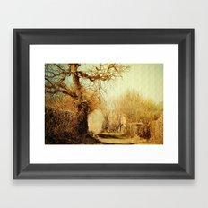 A Norfolk Lane Framed Art Print
