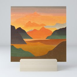 Autumn Landscape 1 Mini Art Print