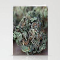 medical Stationery Cards featuring Master Kush Medical Marijuana by BudProducts.us