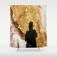 shadow Shower Curtains featuring Shadow by Jeffrey Shagawat