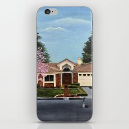 A Very, Very Fine House--With One Cat in the Street? iPhone Skin