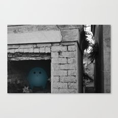 Silence in the Tomb Canvas Print