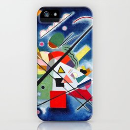 Wassily Kandinsky - Blue Painting - Abstract Art iPhone Case