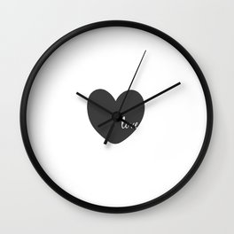 Love Sign,Heart Print,Gift For Her,Valentines,Gift For Boyfriend,Wall Art,I Love You Sign,Digital Wall Clock