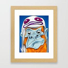 Mono Sapiens Framed Art Print