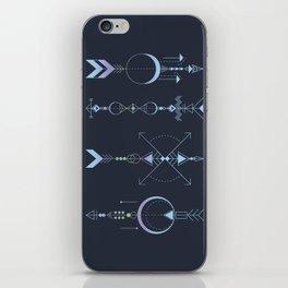 Geometric Arrows - Native American Sioux iPhone Skin