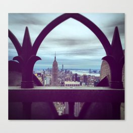 New York City, View From The Top Canvas Print