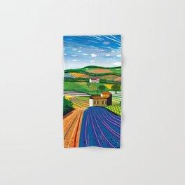 Lavender Farm Hand & Bath Towel
