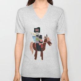 Zapatistas Ride Unisex V-Neck
