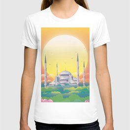 Mosque under the sun T-shirt
