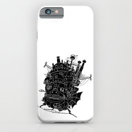 Howl's moving castle. iPhone Case