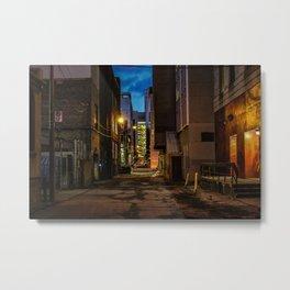 Hidden Alleyways Metal Print
