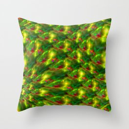 Sunny hill-and-dale Throw Pillow