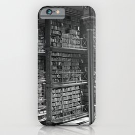 A Book Lover's Dream - Cast-iron Book Alcoves of Old Cincinnati Public Library iPhone Case