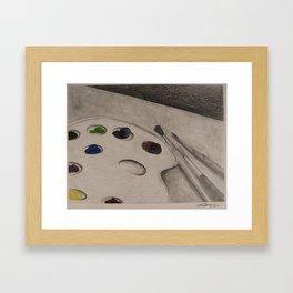 Fruit Pallette Framed Art Print