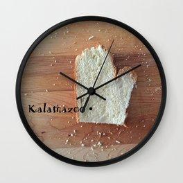 Yes, There Really is a Kalamazoo #puremichigan Wall Clock
