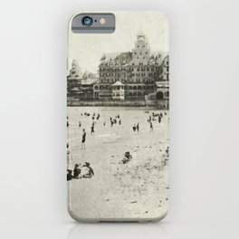 1889 Narragansett Towers, Casino, & Rockingham Hotel, Narragansett, Rhode Island iPhone Case